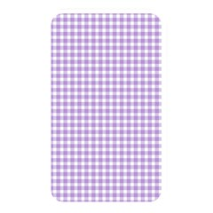Plaid Purple White Line Memory Card Reader by Mariart