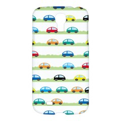 Small Car Red Yellow Blue Orange Black Kids Samsung Galaxy S4 I9500/i9505 Hardshell Case by Mariart