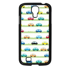 Small Car Red Yellow Blue Orange Black Kids Samsung Galaxy S4 I9500/ I9505 Case (black) by Mariart