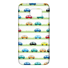 Small Car Red Yellow Blue Orange Black Kids Galaxy S6 by Mariart