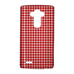 Plaid Red White Line Lg G4 Hardshell Case by Mariart