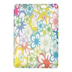 Star Flower Rainbow Sunflower Sakura Kindle Fire Hdx 8 9  Hardshell Case by Mariart