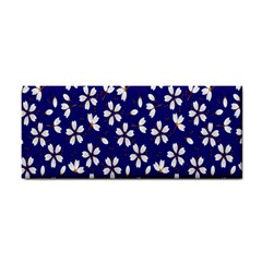 Star Flower Blue White Cosmetic Storage Cases by Mariart