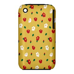 Tulip Sunflower Sakura Flower Floral Red White Leaf Green Iphone 3s/3gs by Mariart