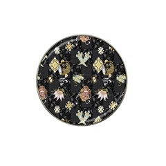 Traditional Music Drum Batik Hat Clip Ball Marker (10 Pack) by Mariart
