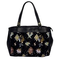 Traditional Music Drum Batik Office Handbags by Mariart