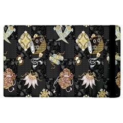 Traditional Music Drum Batik Apple Ipad 2 Flip Case by Mariart