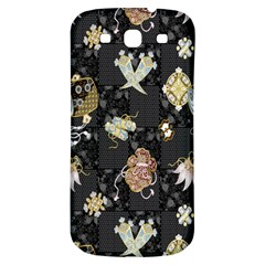 Traditional Music Drum Batik Samsung Galaxy S3 S Iii Classic Hardshell Back Case by Mariart