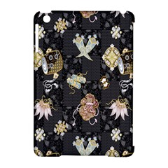 Traditional Music Drum Batik Apple Ipad Mini Hardshell Case (compatible With Smart Cover) by Mariart