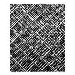 Pattern Metal Pipes Grid Shower Curtain 60  X 72  (medium)  by Nexatart
