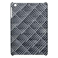 Pattern Metal Pipes Grid Apple Ipad Mini Hardshell Case by Nexatart