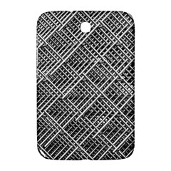 Pattern Metal Pipes Grid Samsung Galaxy Note 8 0 N5100 Hardshell Case  by Nexatart