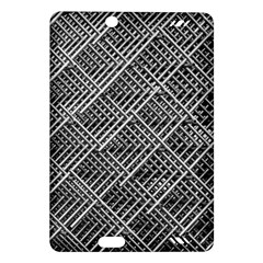 Pattern Metal Pipes Grid Amazon Kindle Fire Hd (2013) Hardshell Case by Nexatart