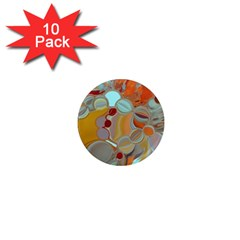 Liquid Bubbles 1  Mini Magnet (10 Pack)  by theunrulyartist