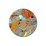 Liquid Bubbles Magnet 3  (Round)