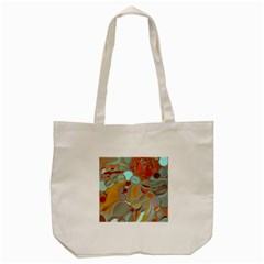 Liquid Bubbles Tote Bag (cream) by theunrulyartist