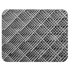Pattern Metal Pipes Grid Double Sided Flano Blanket (medium)  by Nexatart