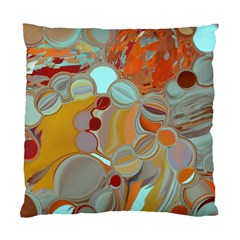Liquid Bubbles Standard Cushion Case (one Side) by theunrulyartist