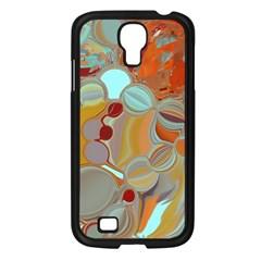Liquid Bubbles Samsung Galaxy S4 I9500/ I9505 Case (black) by theunrulyartist
