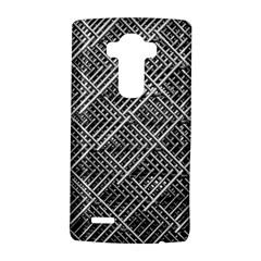 Pattern Metal Pipes Grid Lg G4 Hardshell Case by Nexatart