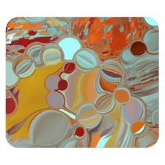 Liquid Bubbles Double Sided Flano Blanket (small)  by theunrulyartist