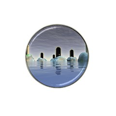 Abstract Gates Doors Stars Hat Clip Ball Marker (4 Pack) by Nexatart