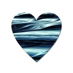 Texture Fractal Frax Hd Mathematics Heart Magnet by Nexatart