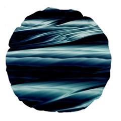 Texture Fractal Frax Hd Mathematics Large 18  Premium Flano Round Cushions by Nexatart