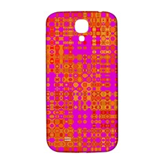 Pink Orange Bright Abstract Samsung Galaxy S4 I9500/i9505  Hardshell Back Case by Nexatart