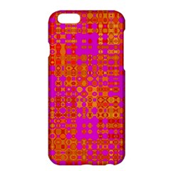 Pink Orange Bright Abstract Apple Iphone 6 Plus/6s Plus Hardshell Case by Nexatart