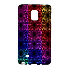 Rainbow Grid Form Abstract Galaxy Note Edge by Nexatart