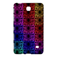 Rainbow Grid Form Abstract Samsung Galaxy Tab 4 (7 ) Hardshell Case  by Nexatart