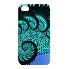 Fractals Texture Abstract Apple Iphone 4/4s Hardshell Case