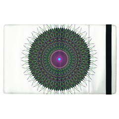 Pattern District Background Apple Ipad 3/4 Flip Case by Nexatart