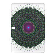 Pattern District Background Samsung Galaxy Tab Pro 10 1 Hardshell Case by Nexatart