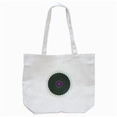 Pattern District Background Tote Bag (white) by Nexatart