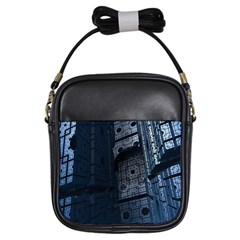 Graphic Design Background Girls Sling Bags by Nexatart