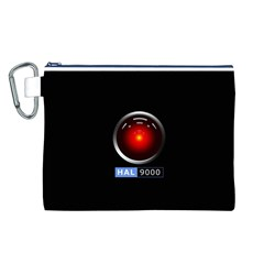 Hal 9000 Canvas Cosmetic Bag (l) by linceazul
