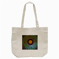 Temple Abstract Ceiling Chinese Tote Bag (cream) by Nexatart