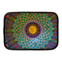 Temple Abstract Ceiling Chinese Netbook Case (medium)  by Nexatart