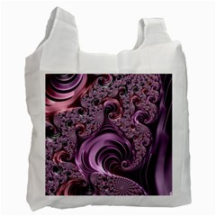 Abstract Art Fractal Art Fractal Recycle Bag (two Side)