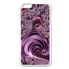 Abstract Art Fractal Art Fractal Apple Iphone 6 Plus/6s Plus Enamel White Case by Nexatart