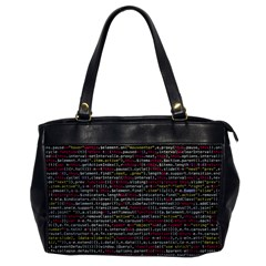 Full Frame Shot Of Abstract Pattern Office Handbags by Nexatart