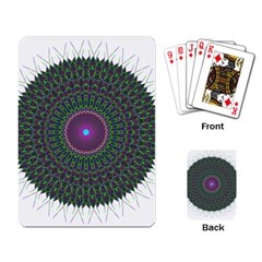 Pattern District Background Playing Card by Nexatart