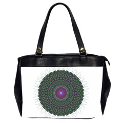 Pattern District Background Office Handbags (2 Sides)  by Nexatart
