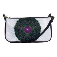 Pattern District Background Shoulder Clutch Bags by Nexatart