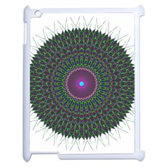 Pattern District Background Apple Ipad 2 Case (white) by Nexatart