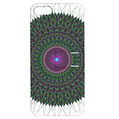 Pattern District Background Apple Iphone 5 Hardshell Case With Stand by Nexatart