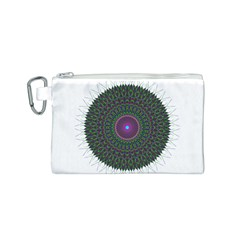 Pattern District Background Canvas Cosmetic Bag (s) by Nexatart