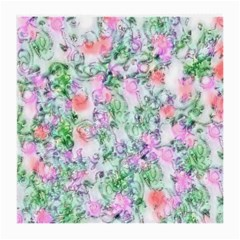 Softly Floral A Medium Glasses Cloth (2 Side) by MoreColorsinLife
